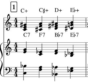 (T-T2) Jazz Applications of the Augmented Scale